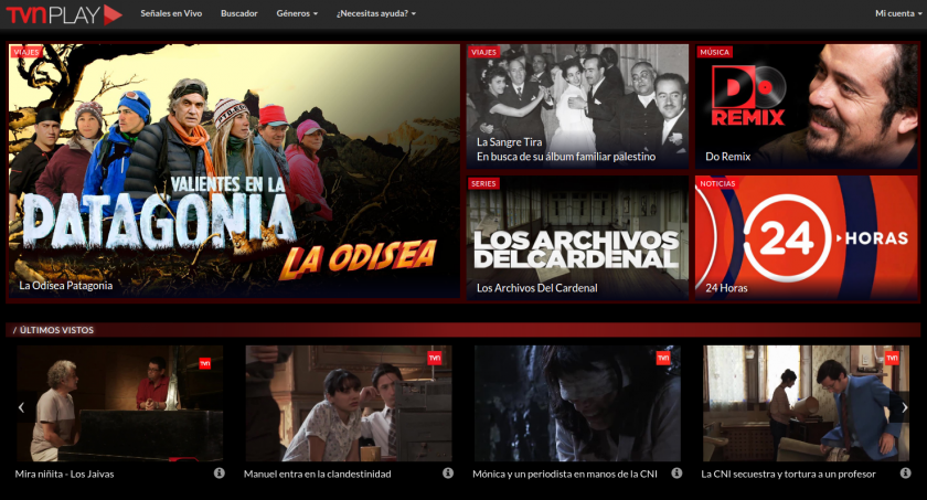 TVN Play Chile - SVOD service