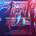 Kick-off IBC 2016 in Style – By Invitation Only :)