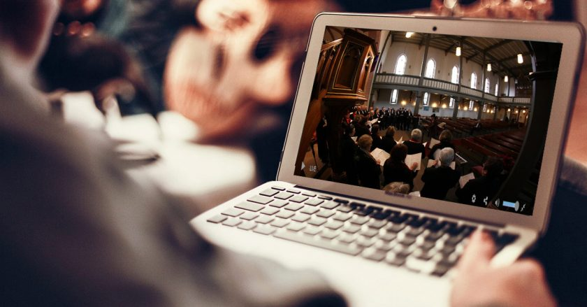 live streaming churches