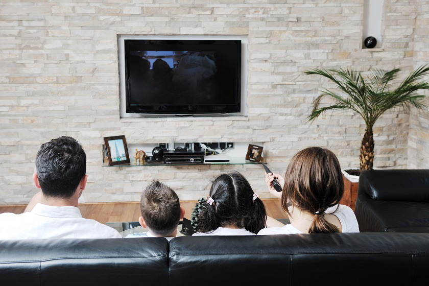 TV screens and streaming