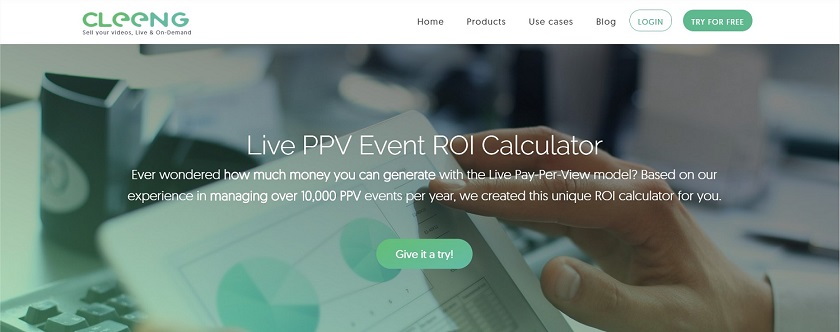 Cleeng ROI calculator - getting started