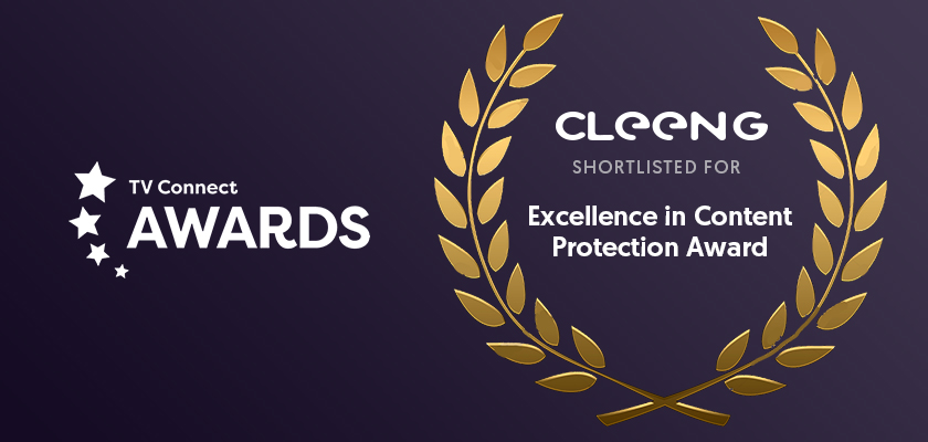 Cleeng TV Connect awards - Excellence in Content Protection