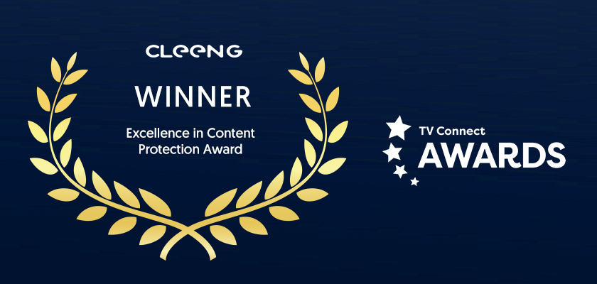 Cleeng's content protection award - TV Connect
