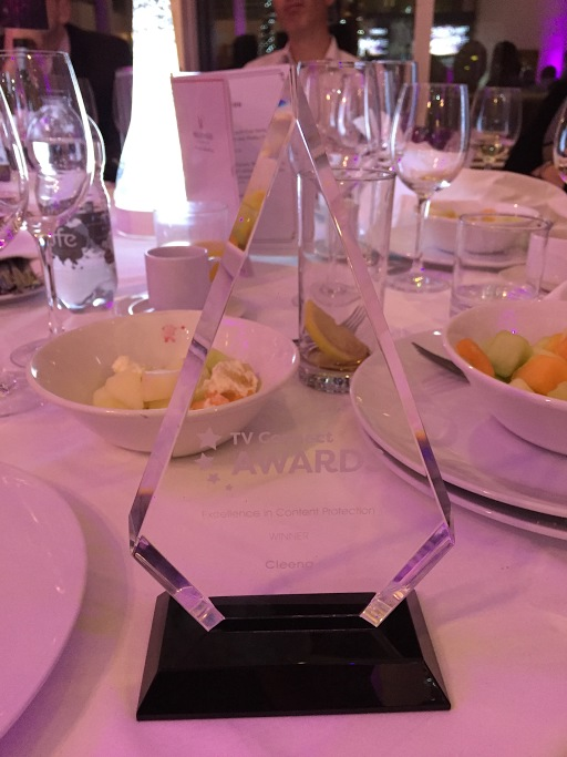Excellence in Content Protection Award - Cleeng
