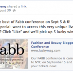 Lucky FABB Live streaming pay-per-view event powered by Cleeng