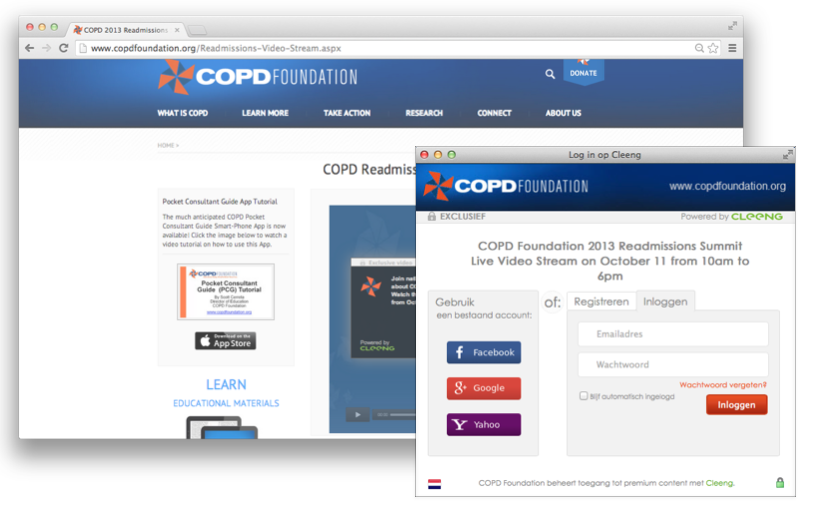 COPD Live Conference PPV