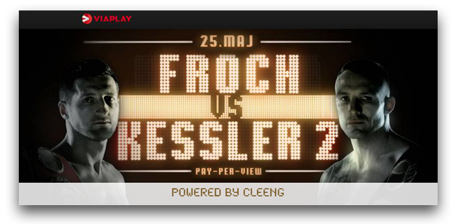 Viaplay, Kessler, Froch, ppv, vod, boxing, box