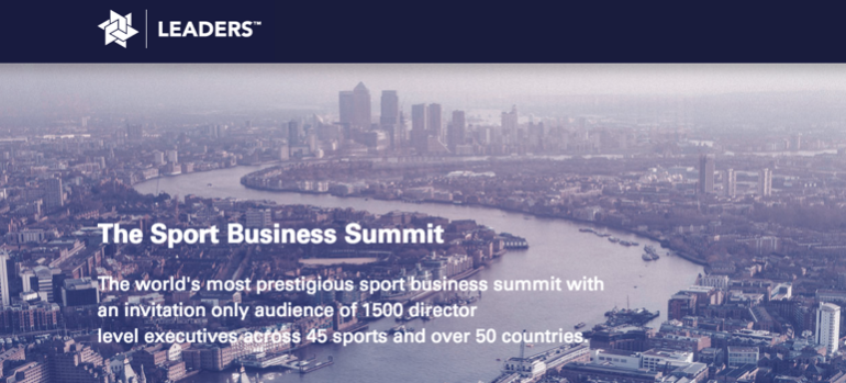 Sport Business Summit - London 2014