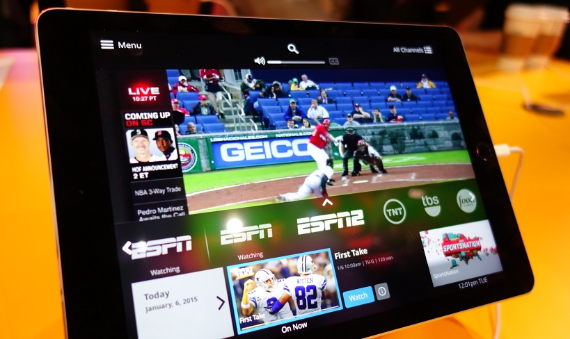 Broadcasting live sports with OTT service